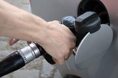 Benzinepomp Royalty-vrije Stock Afbeeldingen