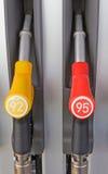 Benzinepomp het vullen Royalty-vrije Stock Foto