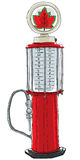 Benzinepomp Uitstekend Stuk speelgoed Stock Afbeelding