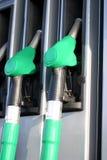 Benzinepompen stock afbeeldingen