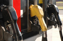 Benzinepompen Royalty-vrije Stock Foto