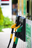 Benzinepompen Stock Afbeelding