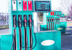 Benzinepost stock fotografie