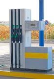 Benzinestation Royalty-vrije Stock Afbeeldingen