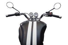 Benzinetank en snelheidsmeter van motorfiets Stock Foto's