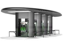 Benzinfüllung Lizenzfreie Stockbilder