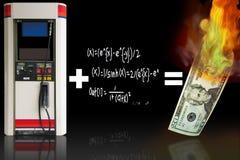 Benzinpreise lizenzfreie abbildung