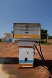 Benzinpumpe Lizenzfreie Stockfotografie
