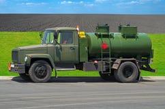 Benzyna tankowiec Zdjęcia Royalty Free