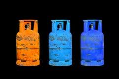 Benzynowa butla Zdjęcia Stock