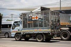 Benzynowa ciężarówka Unic firma gazowa fotografia royalty free
