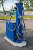 Benzynowa podsadzkowa kolumna Zdjęcia Stock