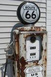 Benzynowa pompa Fotografia Royalty Free