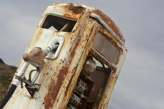 benzynowa pompa rdzewiał rocznika Zdjęcia Stock