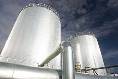 benzynowa produkcja ropy naftowej Obraz Royalty Free