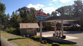(1) benzynowa stacja obrazy stock