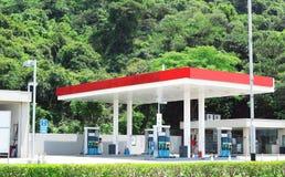 Benzynowa stacja Zdjęcia Stock