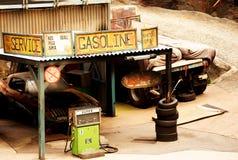 Benzynowa stacja Zdjęcie Royalty Free