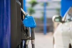 Benzynowa stacja obrazy royalty free