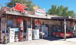 Benzynowa stacja na trasie 66 Fotografia Royalty Free