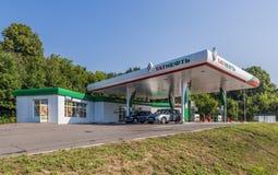 Benzynowa stacja Tatneft Obraz Royalty Free