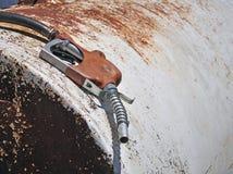 benzynowa stara pompa Fotografia Stock