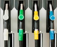 benzynowa szczegół stacja benzynowa Obrazy Stock