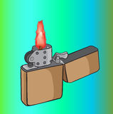 Benzynowa zapalniczka Zdjęcia Stock