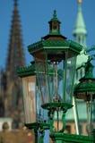 Benzynowe lampy Fotografia Stock