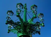 Benzynowe rocznik lampy Obrazy Stock