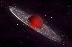 benzynowego giganta planeta Zdjęcia Stock