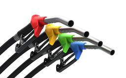 benzynowego nozzle pompa Obraz Stock