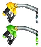 benzynowego nozzle pompa Zdjęcie Stock