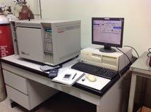 Benzynowej chromatografii instrument Obraz Royalty Free