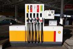 benzynowej skorupy stacja