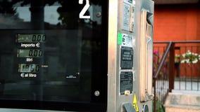 Benzynowej staci Refueling zbiory