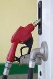 Benzynowi pompowi nozzles Fotografia Royalty Free