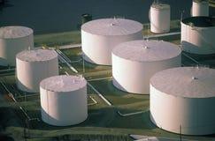Benzynowi zbiorniki w St Louis, MO Obraz Royalty Free