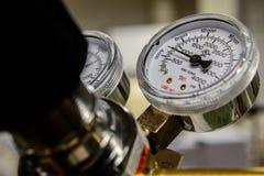 Benzynowy ciśnieniowy wymiernik Obraz Royalty Free
