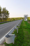 benzynowy drogowy znak Obraz Royalty Free