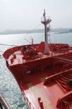 benzynowy grude przemysłu zbiornikowiec do ropy Fotografia Royalty Free