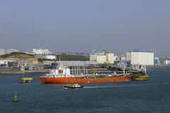 benzynowy grude przemysłu zbiornikowiec do ropy Zdjęcia Stock