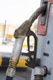 Benzynowy nozzle Fotografia Royalty Free