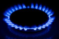 Benzynowy ogień Zdjęcia Stock