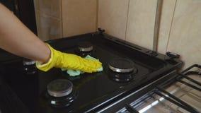 Benzynowy półkowy cleaning zbiory