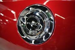Benzynowy pojazdu drzwi fotografia stock