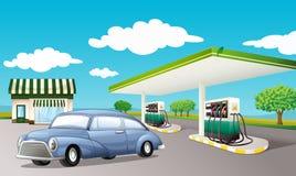 Benzynowy staion Zdjęcia Stock