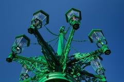 Benzynowy streetlamp Obrazy Royalty Free