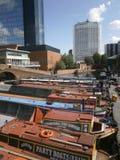 Benzynowy Uliczny Birmingham Zdjęcie Stock