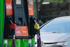Benzyny benzynowa stacja Fotografia Royalty Free